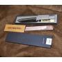 Japonský Santoku nôž Tojiro Shirogami (F-698), černěný, 165mm