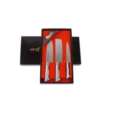 Darčeková sada nožov Tojiro Composit 3ks (FG-55)