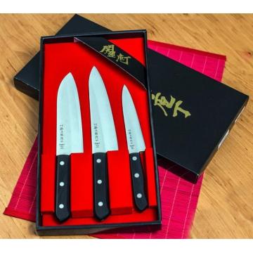 Darčeková sada nožov Tojiro Western 3ks (135mm, 170mm, 180mm)