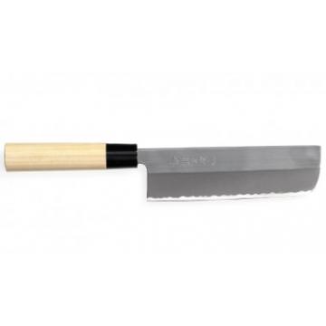 Japonský nôž Tojiro Yasuki Shirogami Nakiri 165 mm