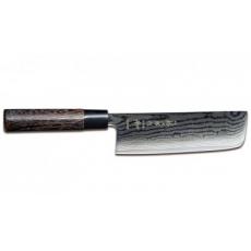 Japonský Nakiri nôž Tojiro Shippu Black 165mm
