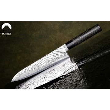 Japonský šéfkucharský nôž Tojiro Shippu Black 240mm