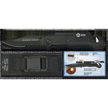 Záchranársky nôž TACTICA K25 / RUI 90mm
