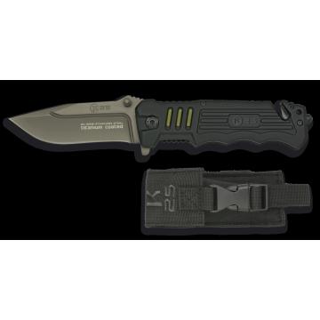 Záchranársky nôž K25 / RUI Black 87mm
