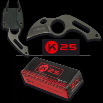 Malý taktický nôž TACTICO K25 / RUI 39mm (k nošení na krku)