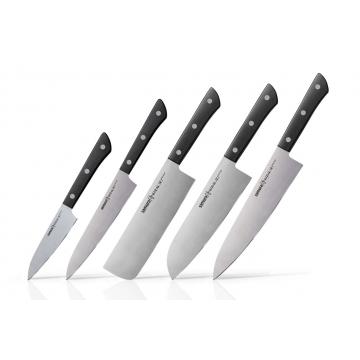 Sada kuchynských nožov Samura Harakiri 5-v-1 (SHR-0250B)