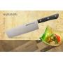 Nůž Nakiri na ovoce a zeleninu Samura HARAKIRI (SHR-0043B), 161 mm