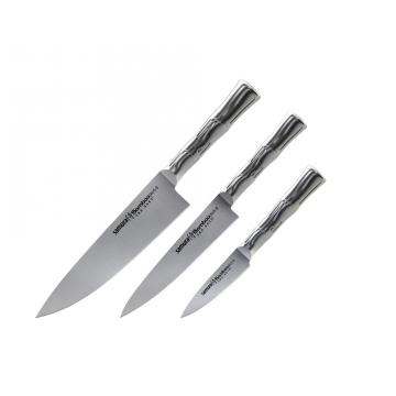 Sada kuchynských nožov Samura Bamboo (SBA-0220), 88 mm, 150 mm, 200 mm