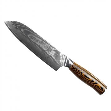 Santoku nôž Seburo SUBAJA II Damascus 190mm