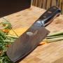 Univerzálny kuchársky nôž Santoku Cullens Dellinger Samurai Professional Damascus VG-10, 170mm