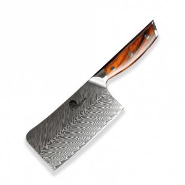 Čínsky univerzálny nôž Dellinger Rose-Wood Damascus, 165mm