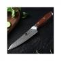 Japonský univerzálny nôž Dellinger Rose-Wood Damascus, 130mm