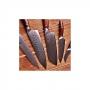 Japonský univerzálny nôž SANTOKU / Chef Dellinger Rose-Wood Damascus, 175mm