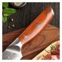 Japonský plátkovací nôž Dellinger Rose-Wood Damascus, 210mm