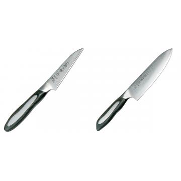 Japonský okrajovací nôž Tojiro Flash 90mm + Japonský šéfkucharský nôž Tojiro Flash (FF-CH180), 180 mm