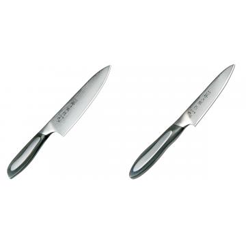 Japonský šéfkucharský nôž Tojiro Flash 160mm + Japonský okrajovací nôž Tojiro Flash (FF-PA100), 100 mm