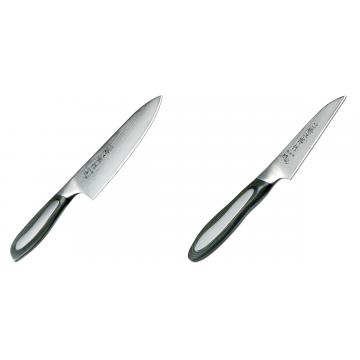 Japonský šéfkucharský nôž Tojiro Flash 160mm + Japonský okrajovací nôž Tojiro Flash 90mm