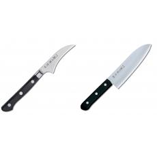 Japonský lúpací nôž Tojiro Western 70mm + Japonský Santoku nôž...