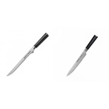 Filetovací nôž Samura Mo-V (SM-0048), 218 mm + Filetovací nůž Samura MO-V (SM-0045), 230mm
