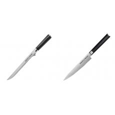 Filetovací nôž Samura Mo-V (SM-0048), 218 mm + Univerzální nůž...