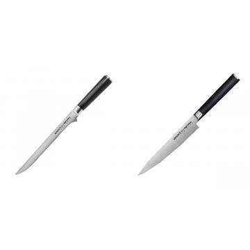 Filetovací nôž Samura Mo-V (SM-0048), 218 mm + Univerzální nůž Samura Mo-V (SM-0023), 150 mm