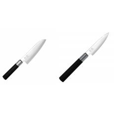 Wasabi Black Santoku KAI 165mm + Univerzální nôž KAI Wasabi...