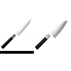 Univerzální nôž KAI Wasabi Black (6715U), 150 mm + Vykosťovací...