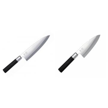 Wasabi Black Deba KAI 210mm + Vykosťovací nůž KAI Wasabi Black Deba, 155 mm
