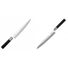 Nôž plátkovací KAI Wasabi Black, 230 mm + Plátkovací nůž KAI...