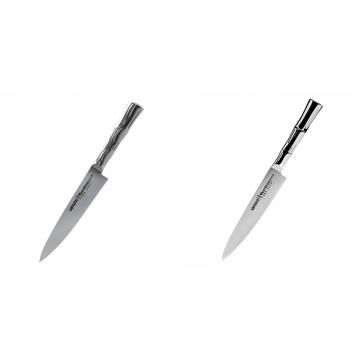 Univerzální nôž Samura Bamboo (SBA-0021), 125 mm + Univerzálny nôž Samura Bamboo (SBA-0023), 150 mm