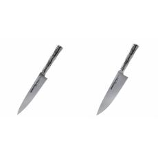 Univerzální nôž Samura Bamboo (SBA-0021), 125 mm + Šéfkucharský...