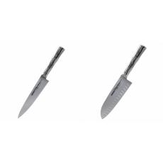 Univerzální nôž Samura Bamboo (SBA-0021), 125 mm + Santoku nůž...