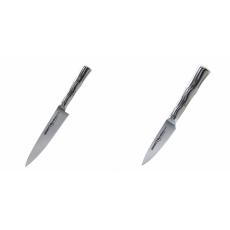 Univerzální nôž Samura Bamboo (SBA-0021), 125 mm + Nůž na ovoce...
