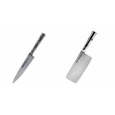 Univerzální nôž Samura Bamboo (SBA-0021), 125 mm + Kuchyňský...