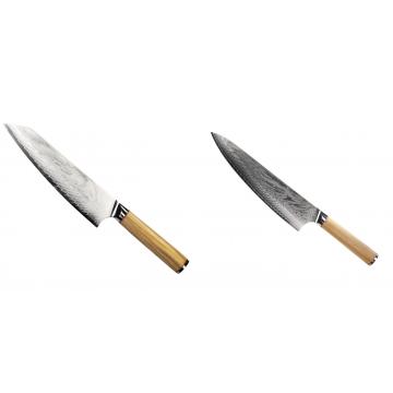 Šéfkucharský nôž Seburo HOKORI EDGE Damascus 200mm + Šéfkucharský nôž Seburo HOKORI Damascus 230mm