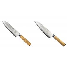 Santoku nôž Seburo HOKORI Damascus 180mm + Šéfkucharský nôž...