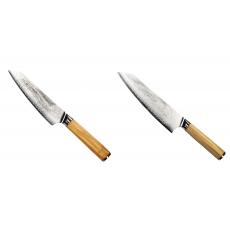 Šéfkucharský nôž Seburo HOKORI EDGE Damascus, 155mm +...