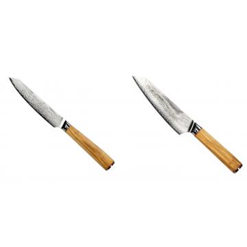 Univerzální nůž Seburo HOKORI EDGE Damascus 130mm + Šéfkucharský nôž Seburo HOKORI EDGE Damascus, 155mm