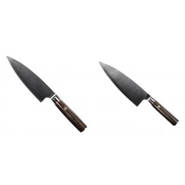 Kuchynský nôž Seburo MUTEKI Deba 160mm + Kuchynský nôž Seburo MUTEKI Deba 200mm