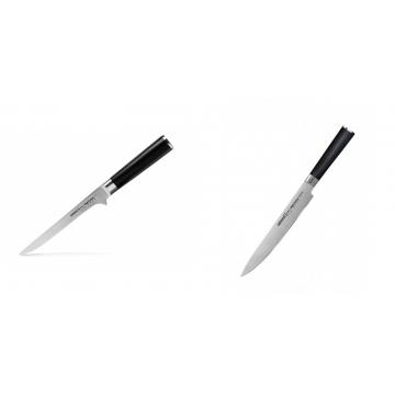 Vykosťovací nůž Samura MO-V (SM-0063), 150mm + Filetovací nůž Samura MO-V (SM-0045), 230mm