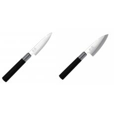 Univerzální nôž KAI Wasabi Black, 100 mm + Wasabi Black Deba KAI...