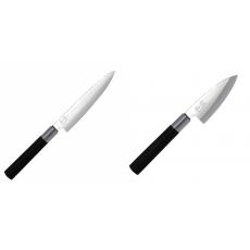Univerzální nôž KAI Wasabi Black (6715U), 150 mm + Wasabi Black...