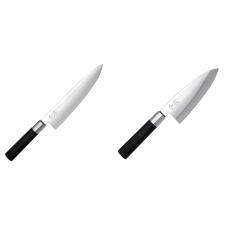 Wasabi Black Nôž šéfkuchára KAI 200mm + Vykosťovací nůž KAI...