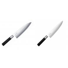 Wasabi Black Deba KAI 210mm + Wasabi Black Nôž šéfkuchára KAI...