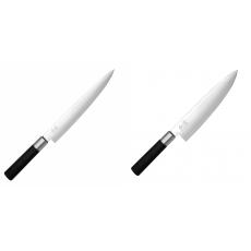Nôž plátkovací KAI Wasabi Black, 230 mm + Wasabi Black Nôž...